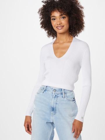 Calvin Klein Kampsun, värv valge