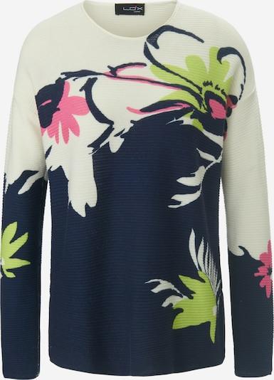 Looxent Rundhals-Pullover in ecru / mischfarben, Produktansicht