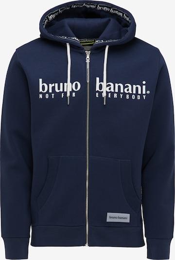BRUNO BANANI Sweatjacke in blau, Produktansicht