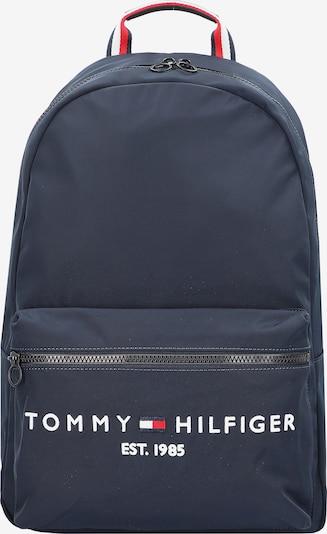 TOMMY HILFIGER Nahrbtnik | temno modra / rdeča / bela barva, Prikaz izdelka