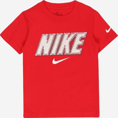 Nike Sportswear Shirt in de kleur Rood / Wit, Productweergave