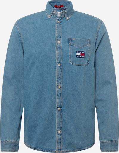 Tommy Jeans Hemd in navy / indigo / rot / weiß, Produktansicht