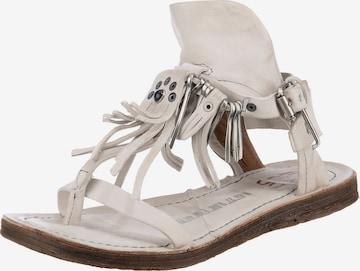 A.S.98 Sandale in Weiß