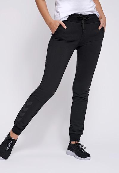Hummel Sportbroek in de kleur Zwart: Vooraanzicht