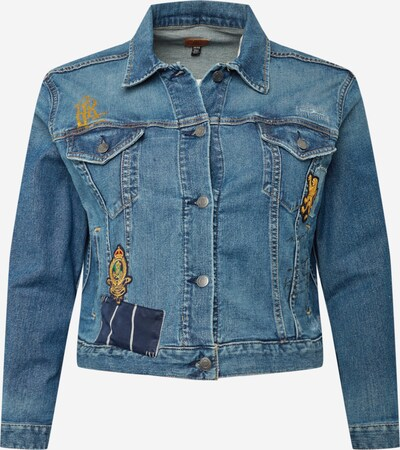 Lauren Ralph Lauren Between-season jacket in Blue denim / Gold / Black, Item view