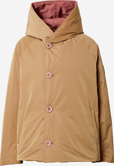 OOF WEAR Winter parka in brown / pink, Item view