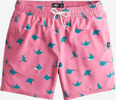 HOLLISTER Plavecké šortky - nebeská modř / pink / bílá, Produkt