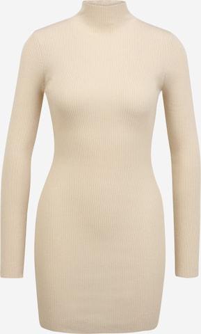 Missguided Petite Dress in Beige