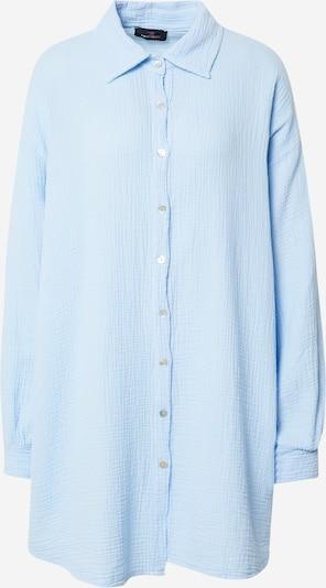 Zwillingsherz Chemisier 'Musselin' en bleu clair, Vue avec produit