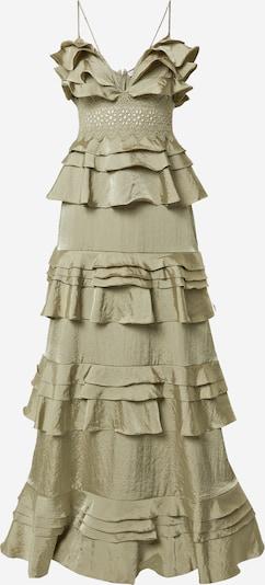 True Decadence Večerna obleka | kaki barva, Prikaz izdelka