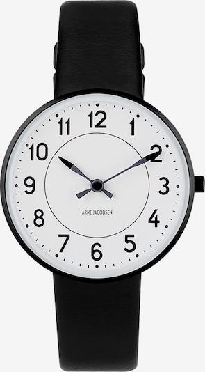 Arne Jacobsen Uhr in beige / schwarz / weiß, Produktansicht
