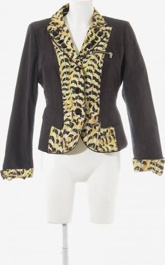 Crisca Kurz-Blazer in S in gelb / schwarz, Produktansicht