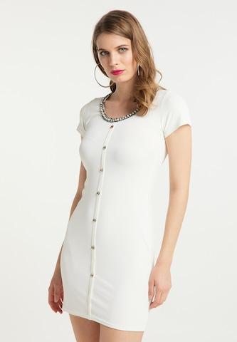 faina Dress in White