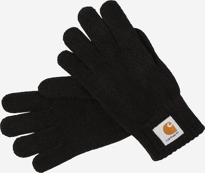 Mănuşi cu degete Carhartt WIP pe negru, Vizualizare produs