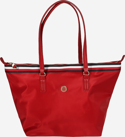 TOMMY HILFIGER Shopper 'POPPY' in rot, Produktansicht