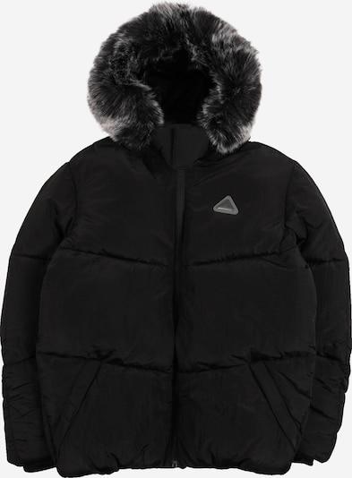 River Island Winterjas in de kleur Rookgrijs / Zwart, Productweergave