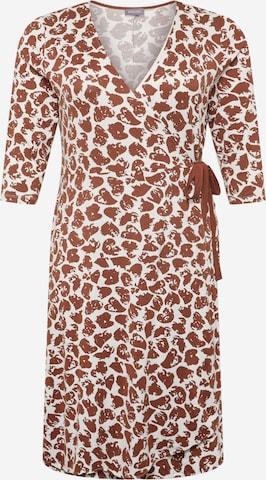 SAMOON Dress in Brown