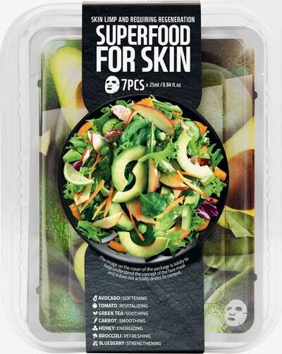 Farmskin Maskenset 'Superfood For Skin Avocado' in transparent, Produktansicht