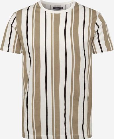 BURTON MENSWEAR LONDON Majica | bež / črna / bela barva, Prikaz izdelka