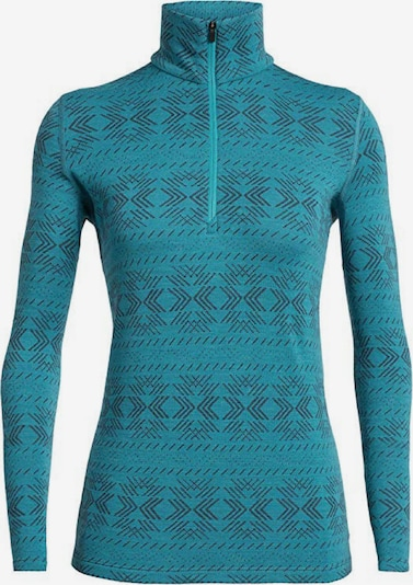 Icebreaker Sportsweatshirt '250 Vertex' in marine / schwarz, Produktansicht