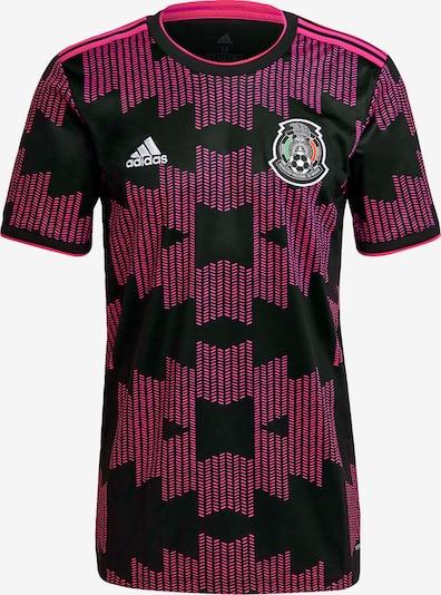 ADIDAS PERFORMANCE Trikot 'Mexiko' in himbeer / schwarz / weiß, Produktansicht