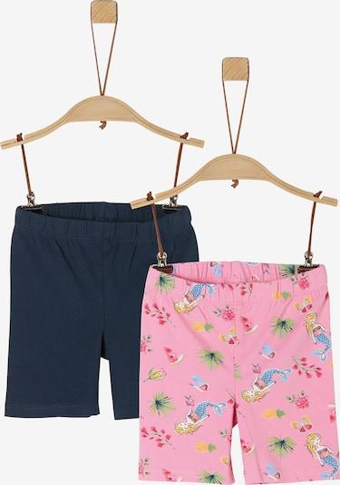 s.Oliver Shorts in blau / mischfarben / pink, Produktansicht