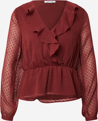 ABOUT YOU Blouse 'Enie' in Rusty red, Item view