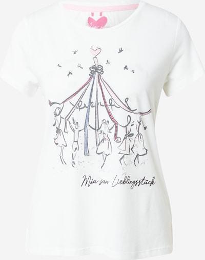 LIEBLINGSSTÜCK T-Shirt 'Daleni' in hellblau / pink / rot / schwarz / offwhite, Produktansicht