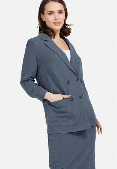 HELMIDGE Blazer in taubenblau, Modelansicht