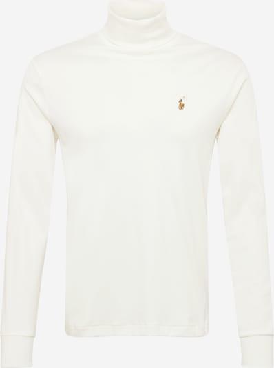 Polo Ralph Lauren T-Shirt en crème / bleu marine / caramel / rouge feu / blanc cassé, Vue avec produit