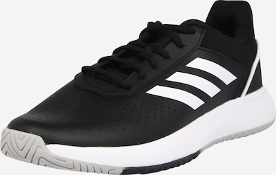 ADIDAS PERFORMANCE Sports shoe 'COURTSMASH' in black / white, Item view