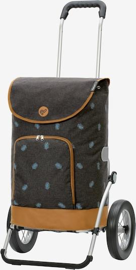 Andersen Shopper Einkaufstrolley 'Holm' in braun / anthrazit, Produktansicht