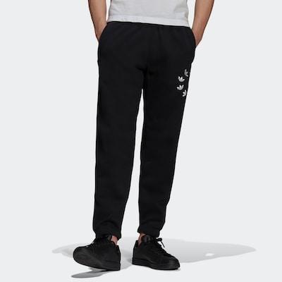 ADIDAS ORIGINALS Sportske hlače u crna / bijela, Prikaz modela