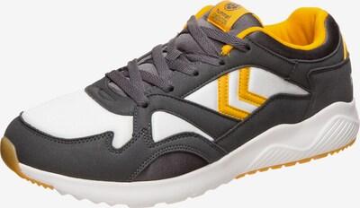 Hummel Sneaker 'Edmonton' in limone / dunkelgrau / weiß, Produktansicht