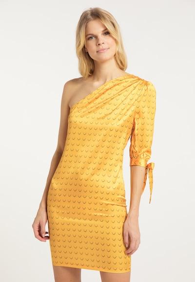 IZIA Kleid in gelb, Modelansicht