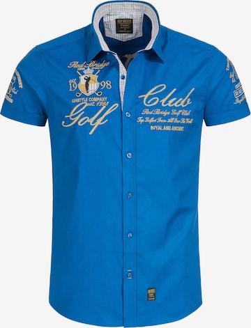 Redbridge Hemd 'Lubbock' in Blau