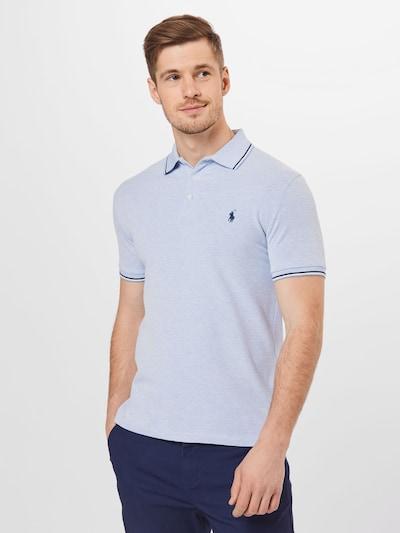 POLO RALPH LAUREN Shirt in Blue / Light blue: Frontal view