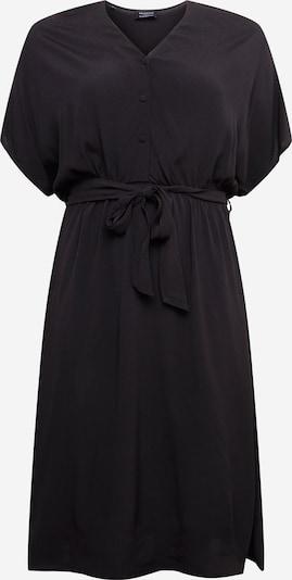 Selected Femme Curve Robe en noir, Vue avec produit