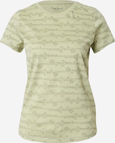 Pepe Jeans T-Krekls 'CECILE' pelēks / gaiši zaļš, Preces skats