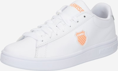 K-SWISS Sneaker 'COURT SHIELD' in apricot / weiß, Produktansicht