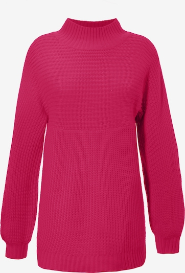 Aniston CASUAL Pullover in himbeer, Produktansicht