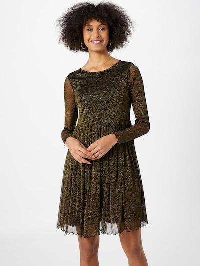 NÜMPH Kleid 'Freja' in gold / schwarz, Modelansicht