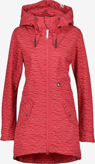 Geacă de primăvară-toamnă 'Audrey' Alife and Kickin pe roși aprins / alb, Vizualizare produs