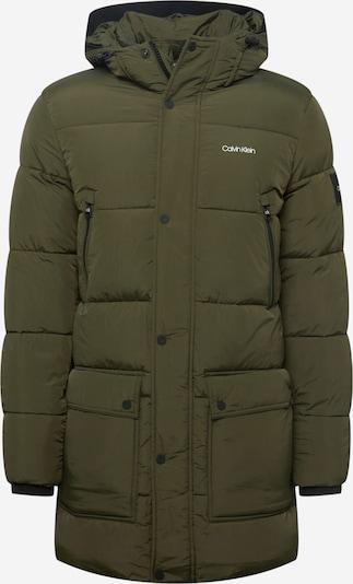 Calvin Klein Jacke in khaki / weiß, Produktansicht