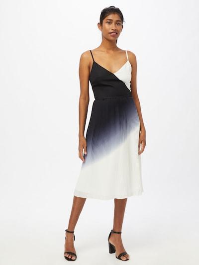 Chi Chi London Koktejlové šaty 'Almie' - noční modrá / bílá, Model/ka