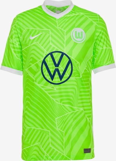 NIKE Trikot 'VFL Wolfsburg 21-22 Heim' in navy / neongrün / weiß, Produktansicht