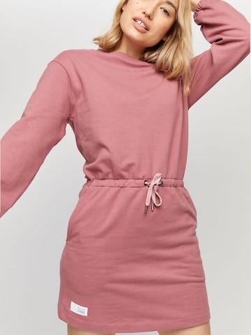 mazine Kleid 'Lolo' - ružová