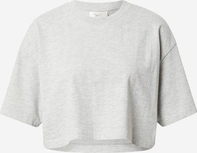 Gina Tricot T-shirt 'Claire' i gråmelerad, Produktvy