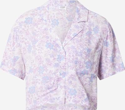 Cotton On Bluse in hellblau / lila / weiß, Produktansicht