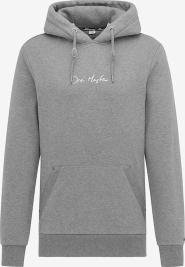 DreiMaster Maritim Sweatshirt in de kleur Grijs, Productweergave